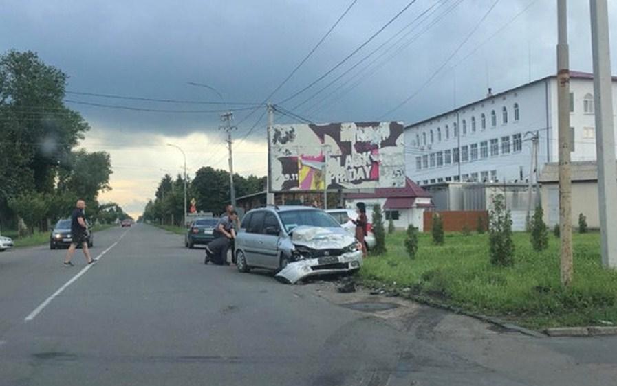 У Мукачеві сталася дорожньо-транспортна пригода.