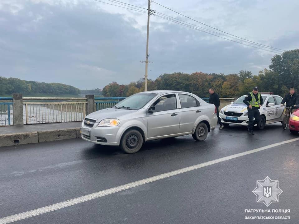 Патрульні відшукали водія, що вчинив ДТП і залишив місце події.