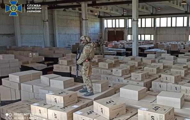 На Дніпропетровщині було організовано незаконне виготовлення підакцизних товарів з метою збуту на території України і в країнах ЄС.