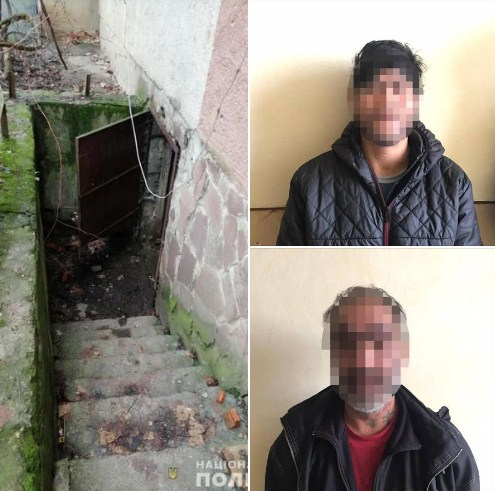 Поліція Мукачева викрила раніше судимих чоловіків на крадіжці майна комунального підприємства