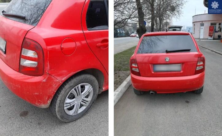 Вранці патрульним надійшов виклик про ДТП зі зниклими. Прибувши на вулицю Масарика, в Мукачеві, інспектори виявили автомобіль Skoda.
