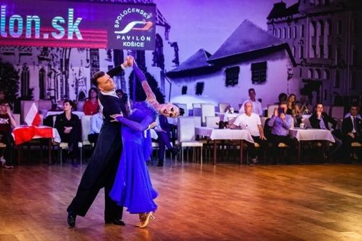 Чемпіонат Європи з танцювального спорту за програмою 10 танців серед дорослих пройшов у словацькому місці Кошице.