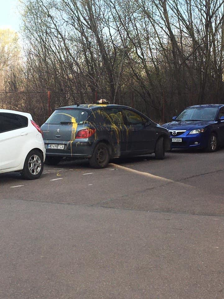 Про інцидент повідомив журналіст Віталій Глагола.