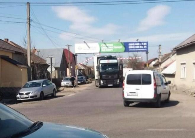Автопригода трапилася сьогодні у Виноградові на вулиці Чайковського.