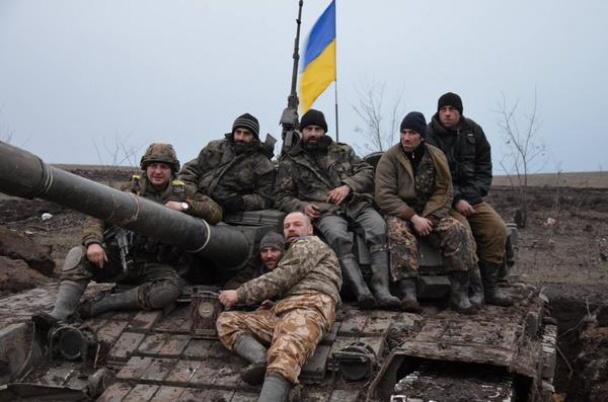 Військовослужбовці 128-ї бригади точно знають, з ким вони воюють.