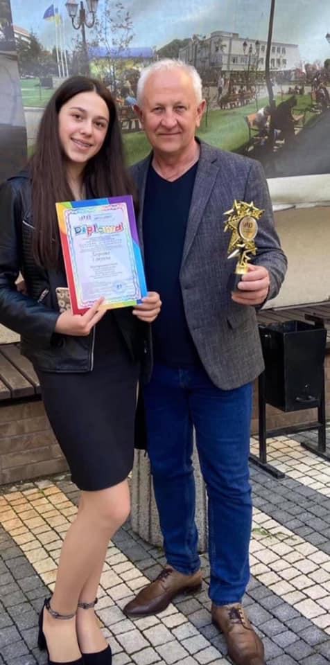 Про перемогу дівчини у конкурсі повідомляють у Мукачівській міськраді.