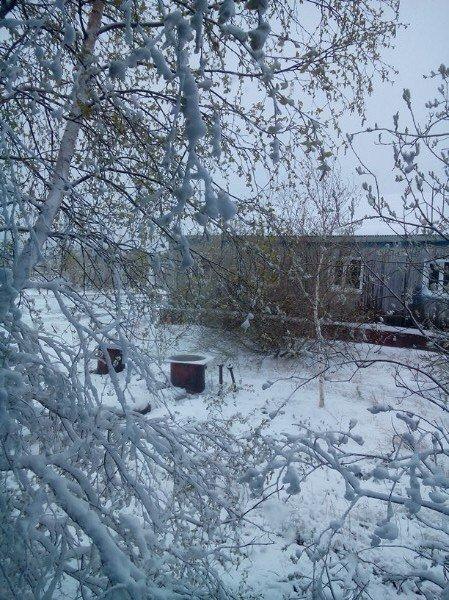 Фотофакт: у перший день літа в Росії випав сніг