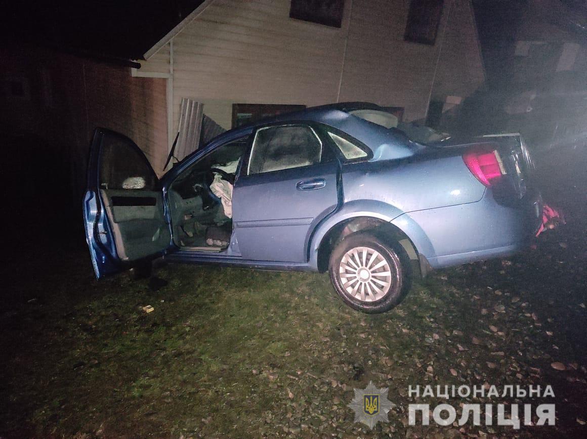 За фактом автопригоди на Тячівщині поліцейські відкрили кримінальне провадження