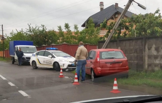 ДТП трапилася на вулиці Осипенка, неподалік гаражного комплексу.