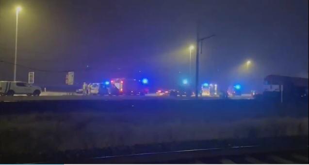 Аварія трапилася у бельгійському місті Дудзеле. Товарний потяг протаранив вантажівку за кермом якої перебував українець.