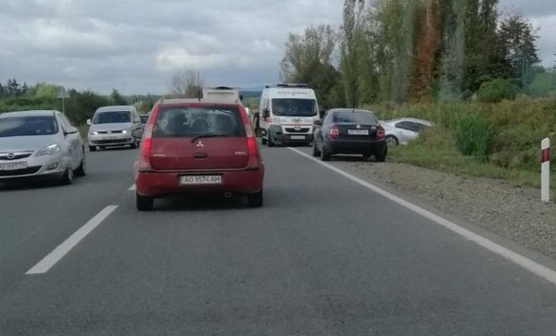 Аварія сталася між селами Лалово та Пістрялово у Мукачівському районі.