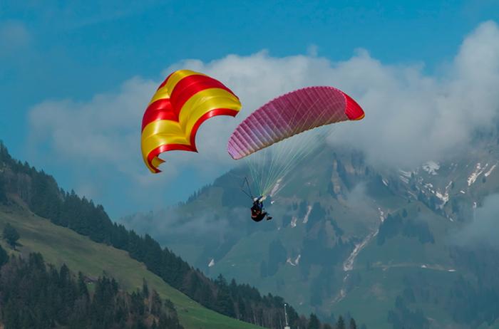 На Міжгірщині відбудеться Кубок Боржави з точності приземлення на парапланах