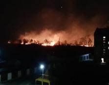 На Іршавщині горіло у кількох місцях — пожежники з вогнем впоралися