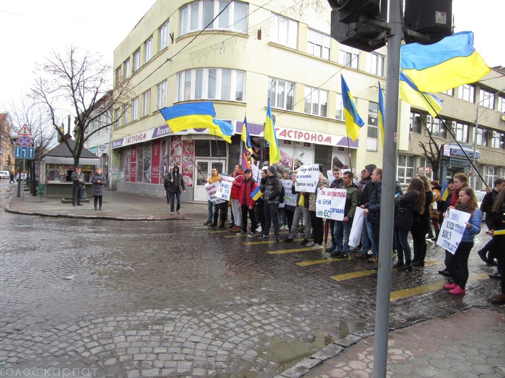 В Мукачеві пройшов марш проти
