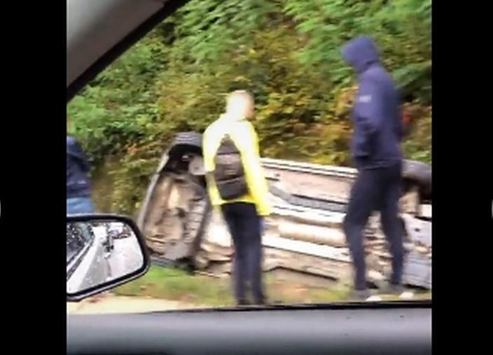 Аварія сталася в селі Вільхівка.