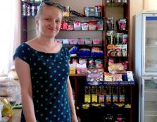 На Воловеччині безробітна відкрила власний магазин