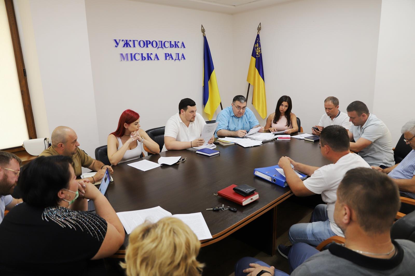 Пів сотні протоколів розглянули напередодні на черговому засіданні адміністративної комісії в Ужгородській міській раді.