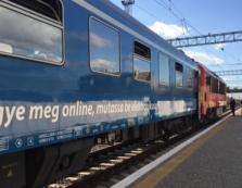 """Поїзд """"Будапешт - Мукачево"""" успішно пройшов тестування (ВІДЕО)"""