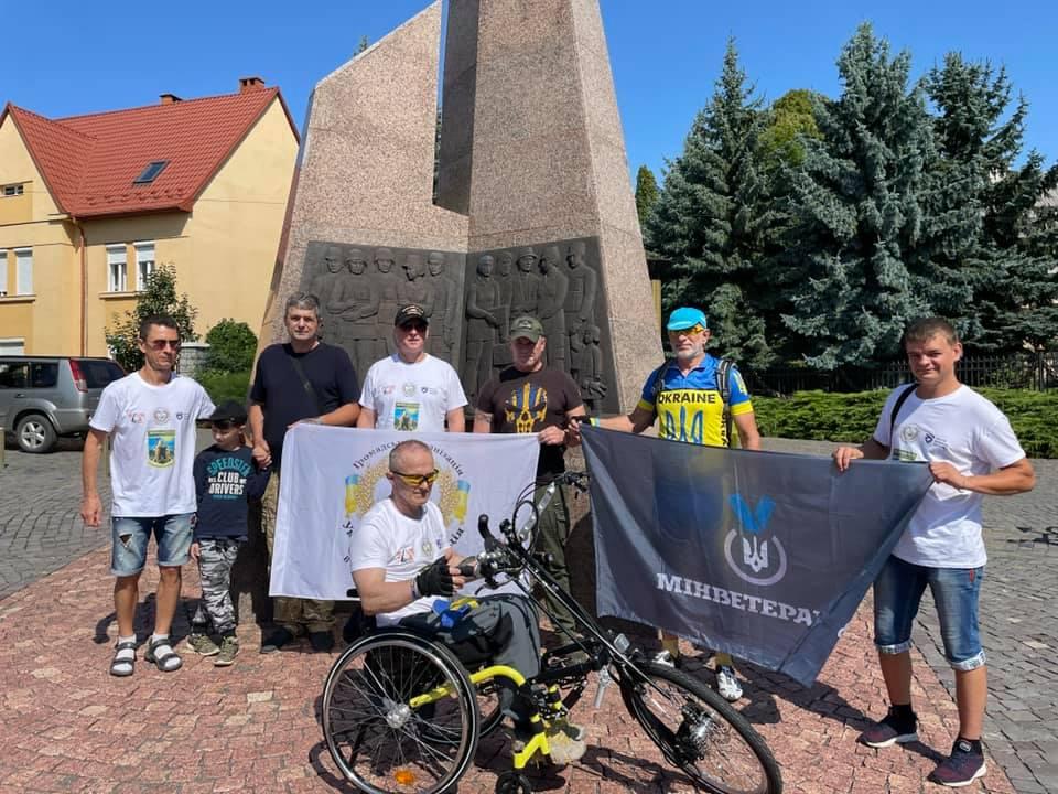 В Ужгороді стартував Об'єднавчий пробіг на Хендбайку