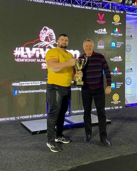 Закарпатець Богдан Лехман став найсильнішим та найтитулованішим чемпіоном змагань.