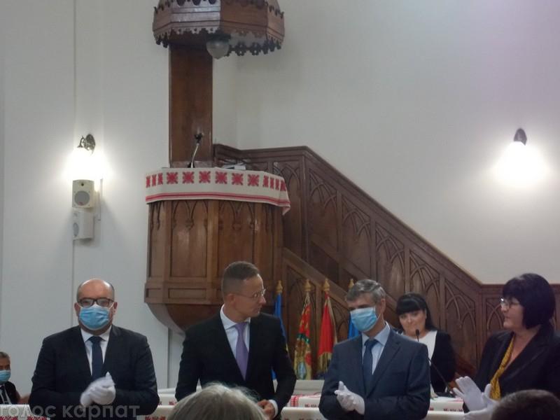 Міністр закордонних справ та зовнішньо-економічних відносин Угорщини взяв участь у відкритті нового навчального року в Закарпатському угорському інституті імені Ференца Ракоці.