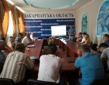На Міжгірщині обговорили стратегію розвитку Закарпатської області