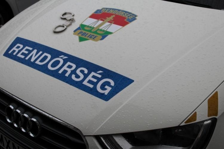 Поліціянти намагались перевірити авто із грузинськими номерами поблизу села Еплийнь.