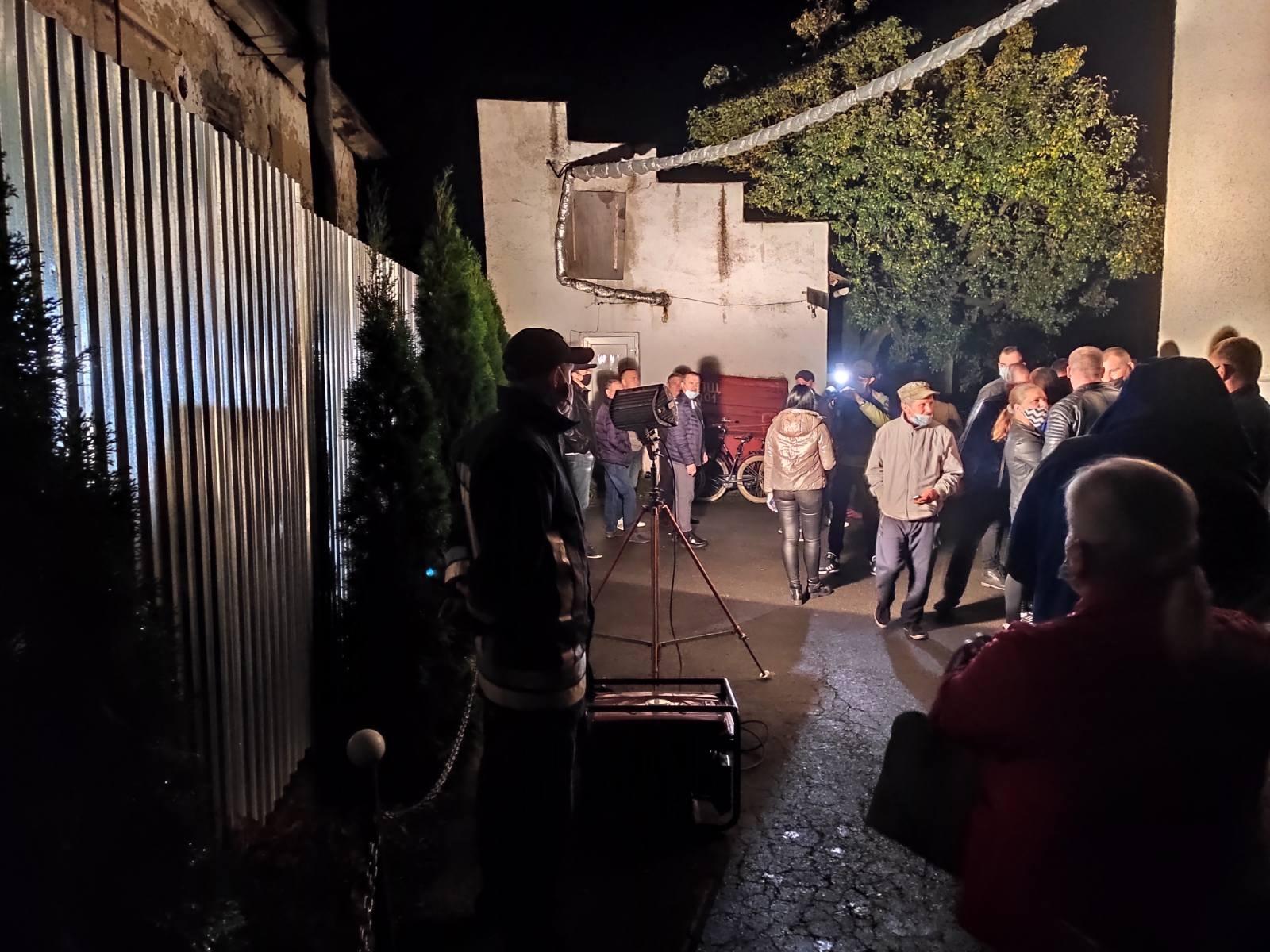 Рятувальники забезпечили безперебійне живлення електроенергії на виборчій дільниці, повідомили в УДСНС.