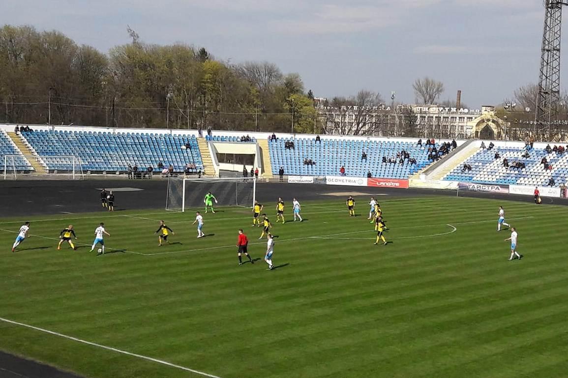 Минайці у весняній частині чемпіонату Другої ліги без дискваліфікованих Харьковщенка та Гегедоша стартують з бойової нічиєї.