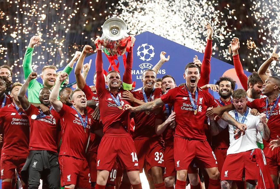 Ліверпуль переграв Тоттенхем з рахунком 2:0 у фіналі Ліги Чемпіонів 2018/19.