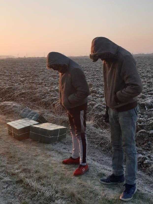 Спробі переміщення до Угорщини тютюнової контрабанди завадили прикордонники в рамках спеціальної прикордонної операції