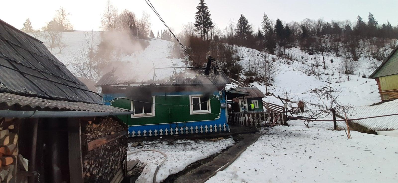Про це повідомила пресслужба У ДСНС України у Закарпатській області.