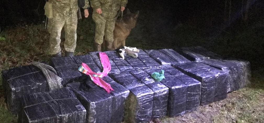 Учора ввечері на Закарпатті прикордонники відділення «Великий Бичків» Мукачівського загону не допустили незаконного переміщення через кордон 12 пакунків сигарет.