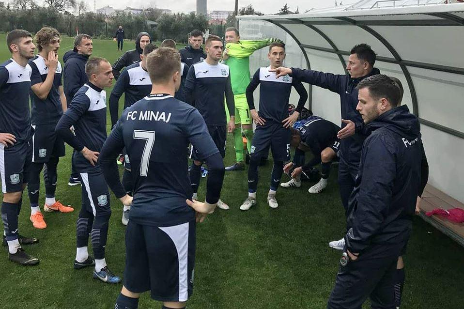 У другому товариському матчі в турецькому Сіде, де проходять тренувальні збори, закарпатська команда поступилися з мінімальним рахунком 0:1.