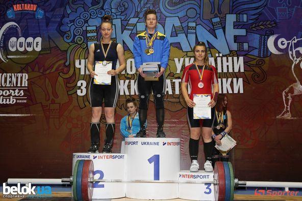 Днями у м. Хмельницький відбувся Чемпіонат України з важкої атлетики,  де відзначилися спортсменки з Великоберезнянщини.