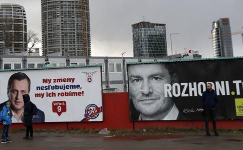 За результатами підрахунку голосів на парламентських виборах сусідню Словаччину чекає повне перезавантаження влади: коаліцію створять досі опозиційні партії.
