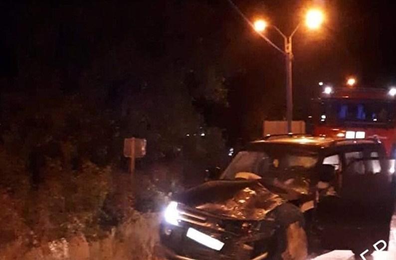 У м.Виноградів по вул.Копанській сталася аварія за участі двох автомобілів.