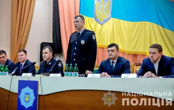 В Ужгороді представили нового керівника обласної поліції. Ним став Олександр Шляховський, який раніше очолював кримінальну поліцію Київської області.
