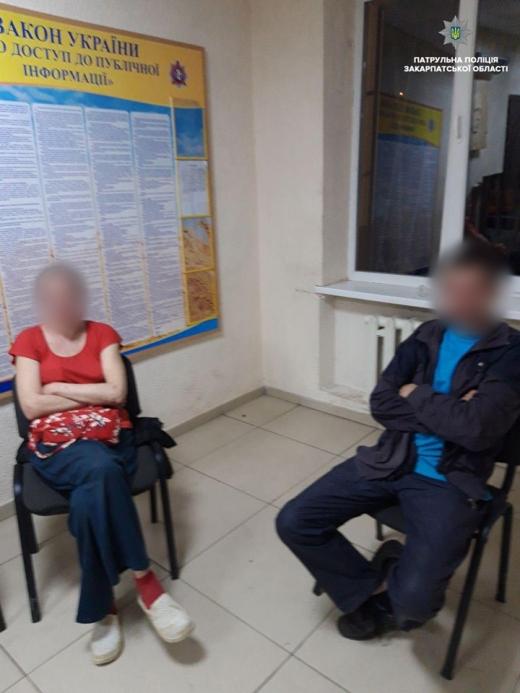 Ужгородські патрульні затримали осіб, які порушували громадський порядок, повідомили в УПП в Закарпатській області.