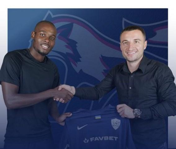 Новим гравцем «Минаю» став футболіст молодіжної збірної ПАР.