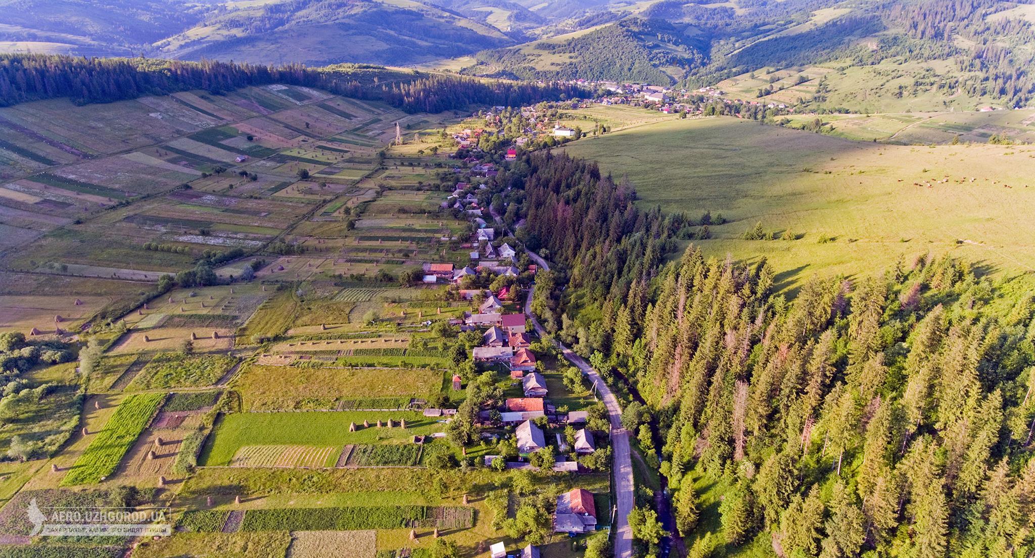 Село Гукливий Воловецького району: вражаючі кадри