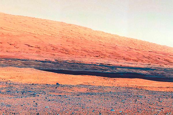 Учені зробили чергове сенсаційне відкриття. На знімках, отриманих з марсохода Curiosity, вчені змогли розглянути величезну голову мавпи.