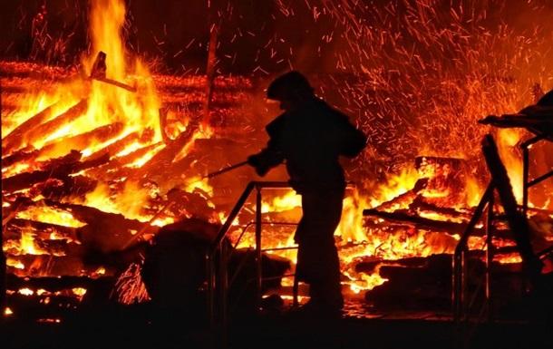 На Перечинщині сталась пожежа на лісокомбінаті