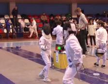 В Ужгороді проходить фехтувальний «Горець-2019» — закарпатський етап Всеукраїнської дитячої ліги