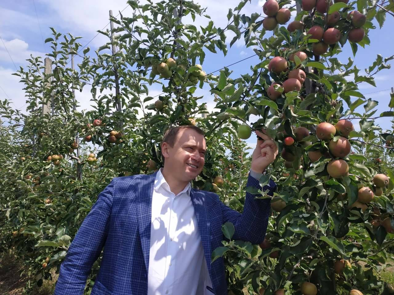 Закарпаття відвідав президент асоціації «Український клуб аграрного бізнесу», генеральний директор аграрної компанії ІМК Алекс Ліссітса.