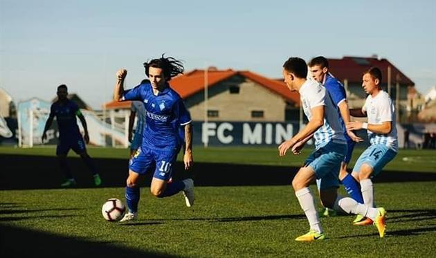 Свій перший матч такого рівня провели футболісти «Минаю».