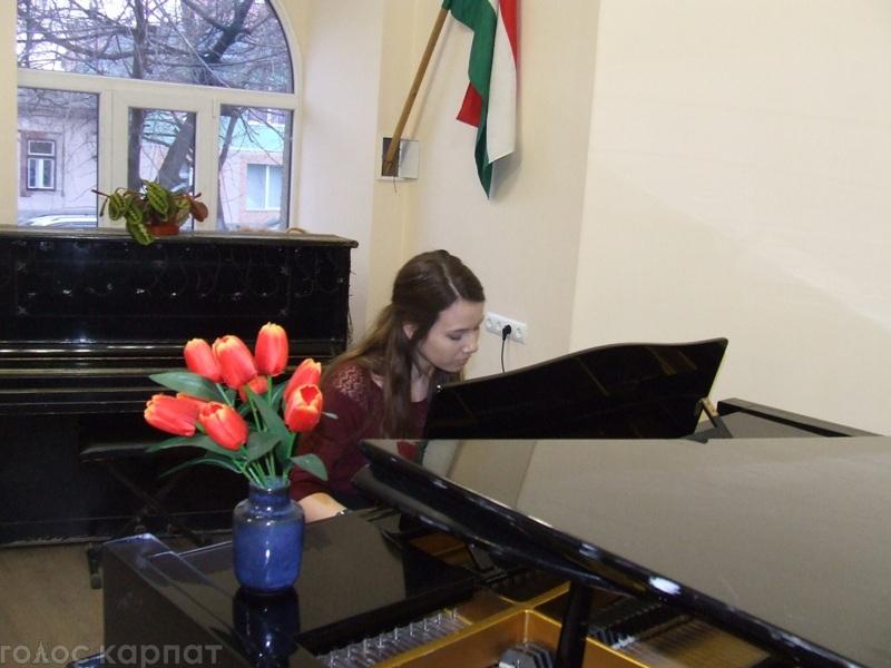 У Берегівській школі мистецтв теж відзначили Дні угорської культури / ФОТО