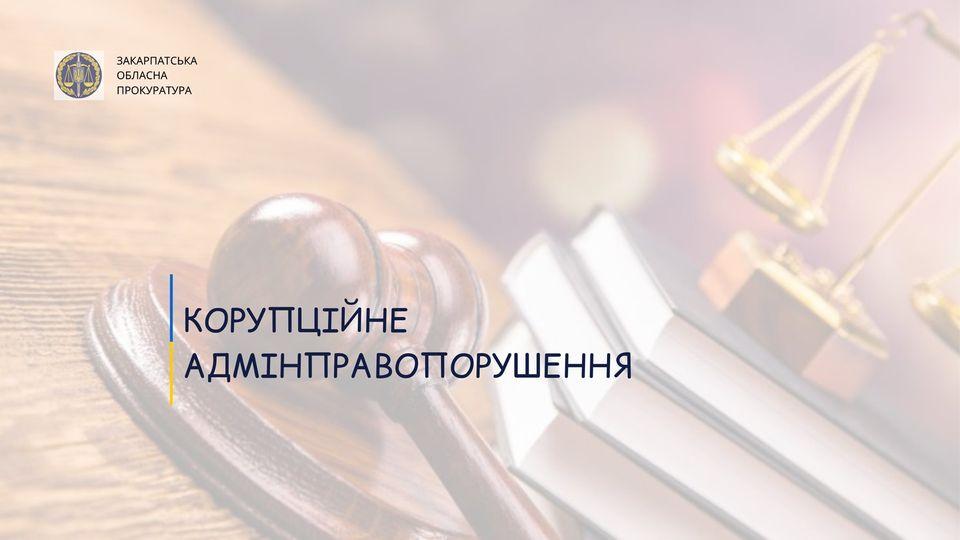 Закарпатською обласною прокуратурою в апеляційній інстанції доведено вину начальника Берегівського міжрайонного управління водного господарства у вчиненні адміністративного правопорушення.