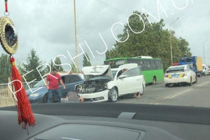 Про аварію стало відомо щойно, світлини надіслали очевидці.
