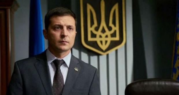 Найбільш вірогідно, з Володимиром Зеленським.